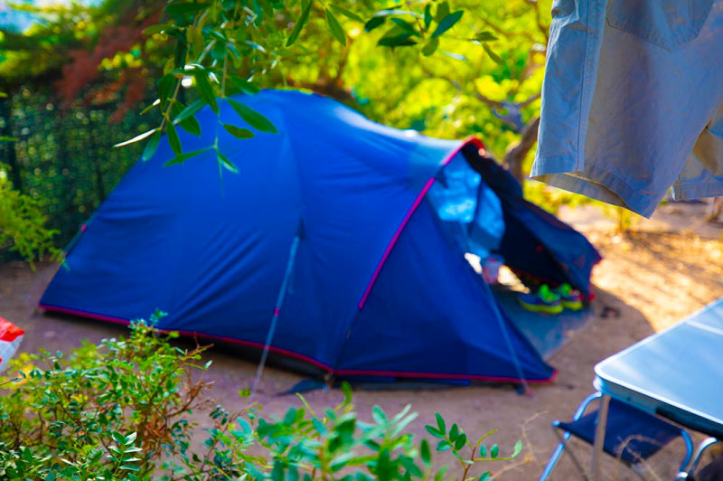 restaurant emplacement camping clair de lune giens